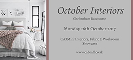 Curtain & Blind Makers Friendly Forum - October Interiors
